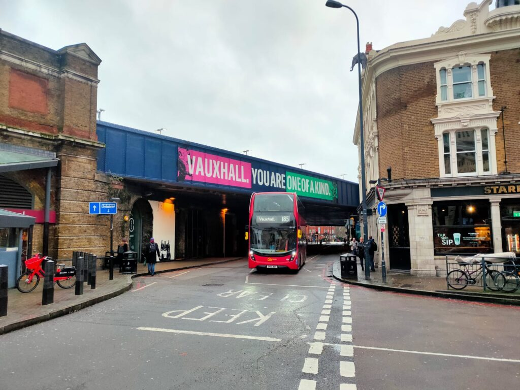 Vauxhall One Station Bridge Re-Design