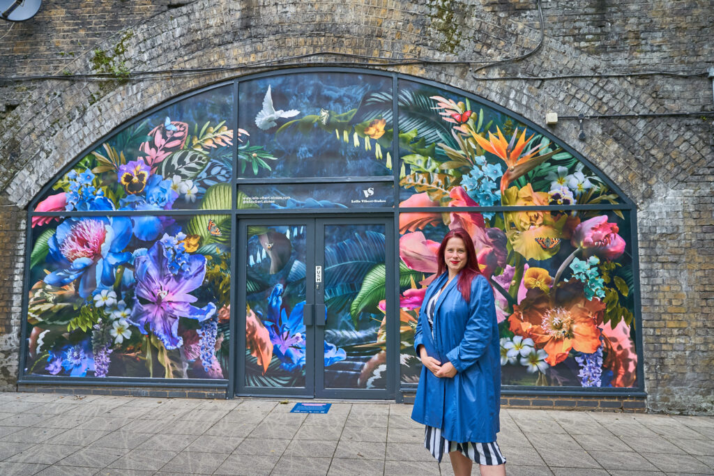 Leila Vibert Stokes art in the arches